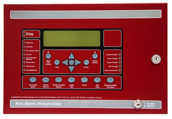 LE-FN-LCD-S Serial annunciator Bahrain