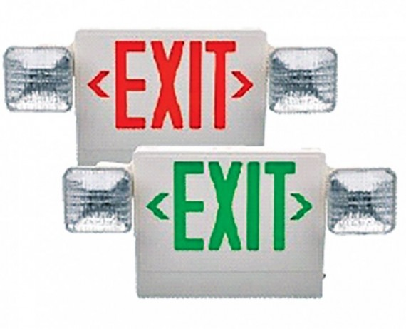 LED Exit/Emergency Light Combination Bahrain