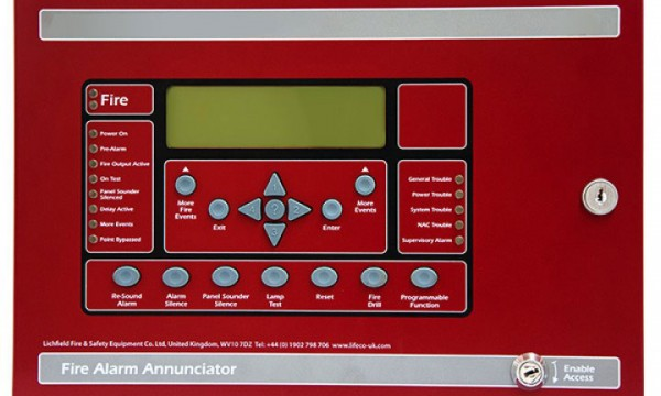 LE-FN-LCD-S Serial annunciator