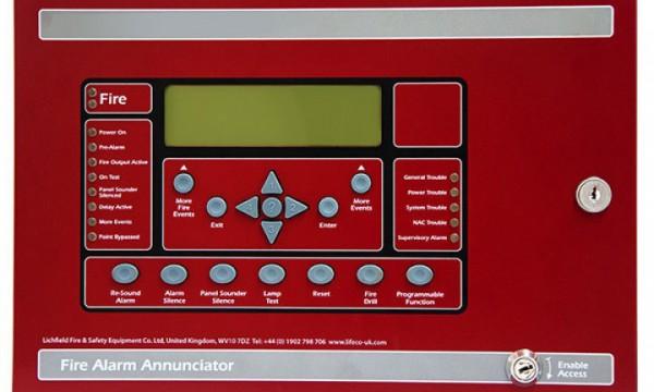 LE-FN-LCD-S Serial annunciator