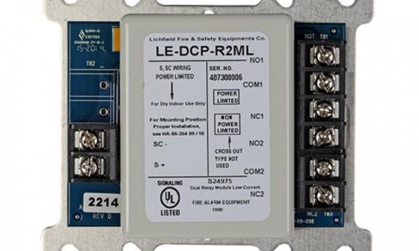 Dual Relay Output Module – LE-DCP-R2ML/H-I