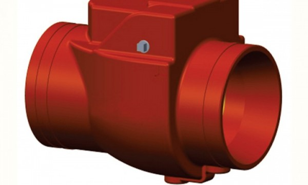 Swing Check Valve – Grooved ends – 5905-XXX-GLF