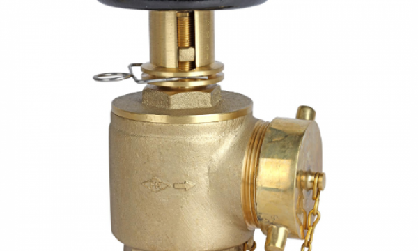 Pressure Restricting Angle Hose Valve