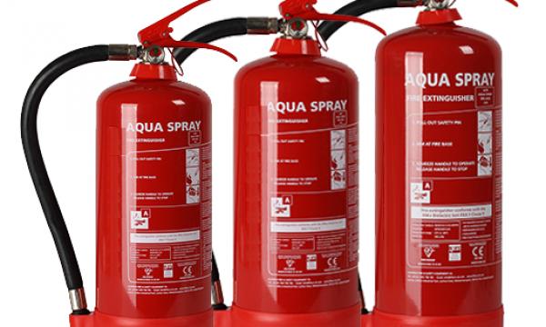 Aqua Spray Extinguishers