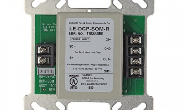 Supervised Output Module – LE-DCP-SOM-R